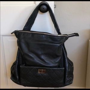 Chanel Lambskin Leather Hobo/Tote - AUTHENTIC